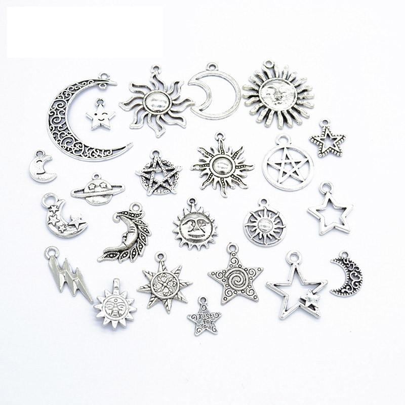 8pcs Tibetan Silver  SCISSORS Charm Pendant Bead Jewellery Making 12*25mm