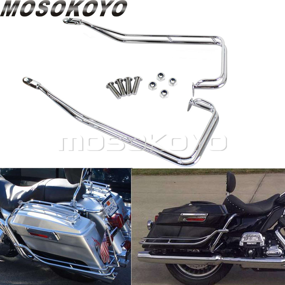 TCMT Chrome Mid-Frame Air Deflector For Harley Davidson Touring /& Trike models 09-17