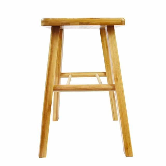 Cyanbamboo Square Stool Bamboo Stool Home Bathtroom Toilet Stools