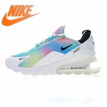 Оригинальный Nike Оригинальные кроссовки Air Max 270 для женщин кроссовки открытый тапки удобные спортивные дизайнер обувь 2018 Новый AH6789