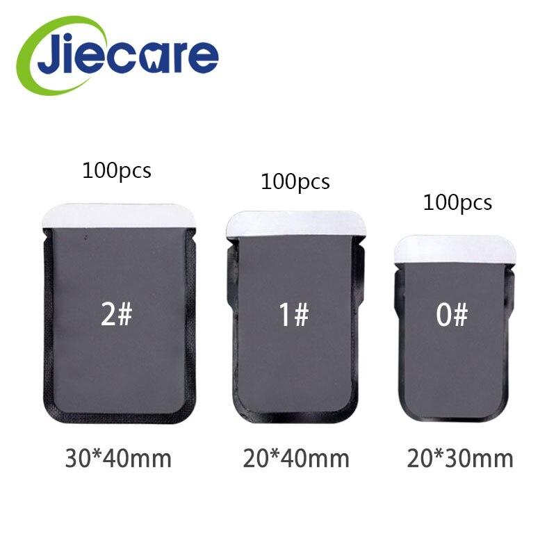 100Pcs/Bag Dental Consumables Materials Dental Barrier Envelopes Dental Bags For X-ray Film 0# 1# 2# X-ray Film Bags