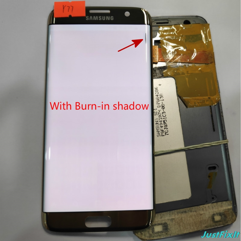 For Samsung s7 edge G935F G935A LCD display outer touch panel screen