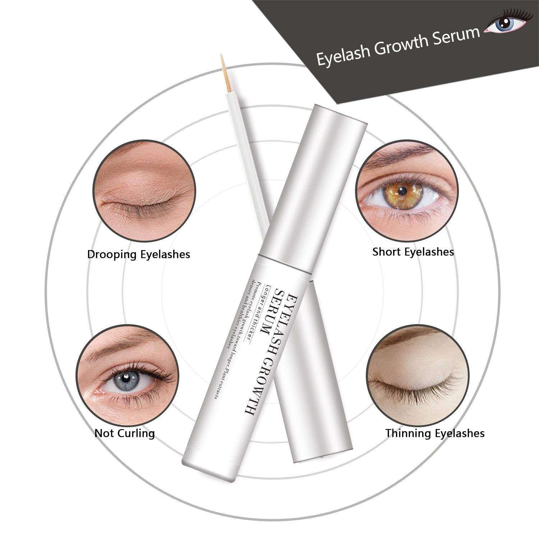 EVOLIM Herbal Eyelash Enhancer 100% Original  Eyelash Growth Treatment Eyelash Enhancer Serum Eyelash Liquid 1Pcs