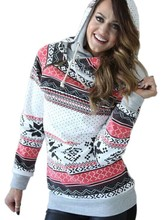 Christmas plus size woman sweatshirts gothic hoodies national snow hoodie womens clothing korean sweatshirt pullovers tops