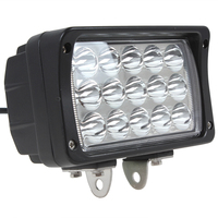 Hot Sale 2925LM 45W 15 X 3W Epistar LEDs Work Light For Motorcycle Tractor Boat SUV