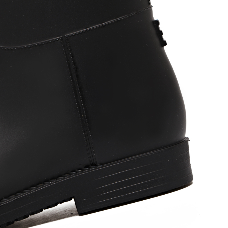 Pantorrilla Prueba Botas Hebilla Moda Agua Lluvia De Media Mujeres Antideslizante Las Black A Pvc Rt365 Zapatos Mujer Rouroliu ZSz6UXqS