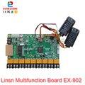 LINSN карта EX901 EX902 многофункциональная карта Поддержка температуры и влажности Датчик яркости светодиодный дисплей контрольная карта