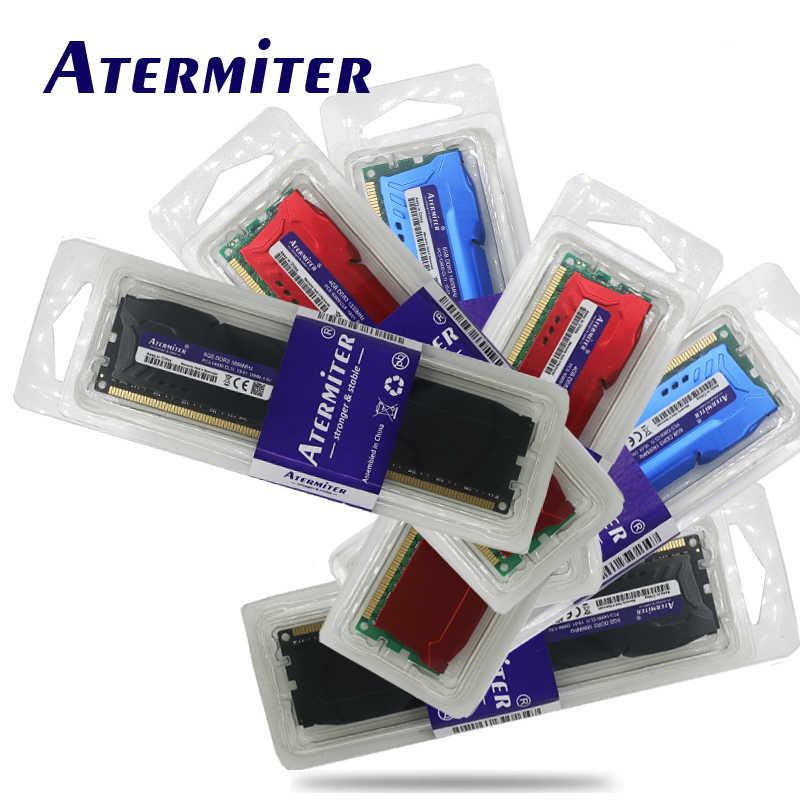 جديد 8GB DDR3 1600Mhz 1866Mhz 1333MHz المبرد حاسوب شخصي مكتبي DIMM ذاكرة عشوائية Ram 240 pins (إنتل amd) 6gb 4gb 8g 1866 1600 1333