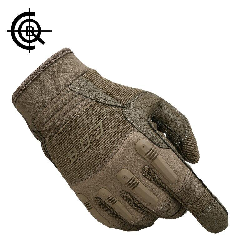 Workout Gloves Full Finger: CQB Tactical Gloves Military Full Finger Fitness Gloves