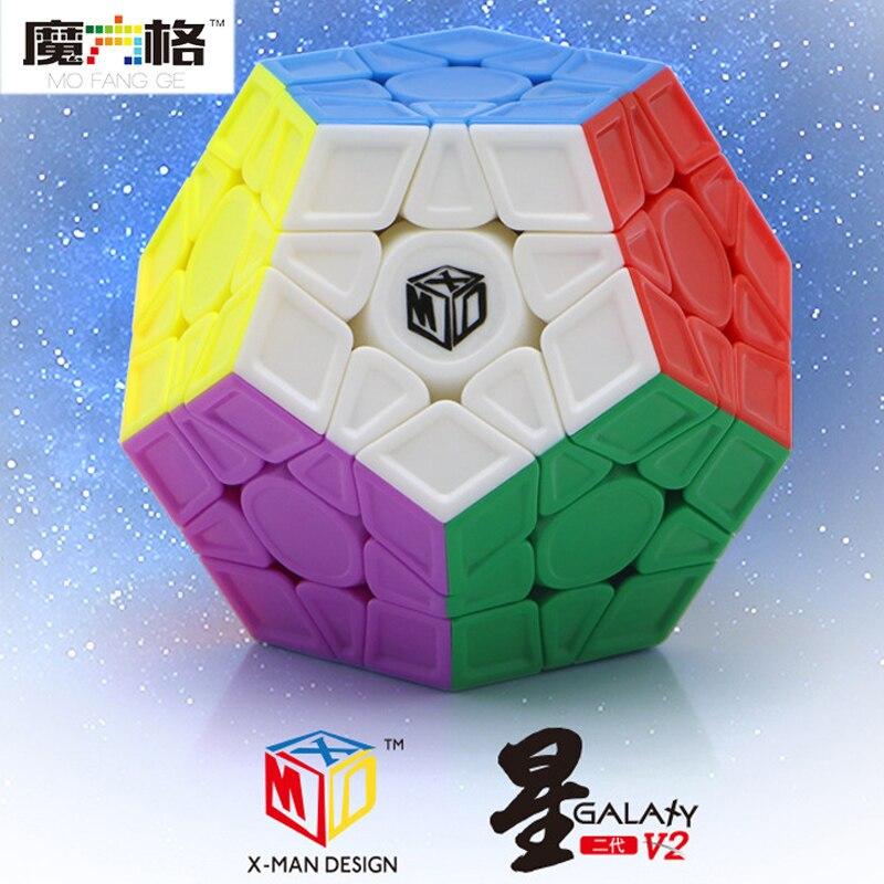 Zauberwürfel 2019 Neuer Stil Xmd X-man Galaxy V2 Megaminxeds Cube Qiyi Mofangge Professionelle Geschwindigkeit Magische Würfel Neo Magico Cubo Puzzles Cube Spielzeug Für Kinder