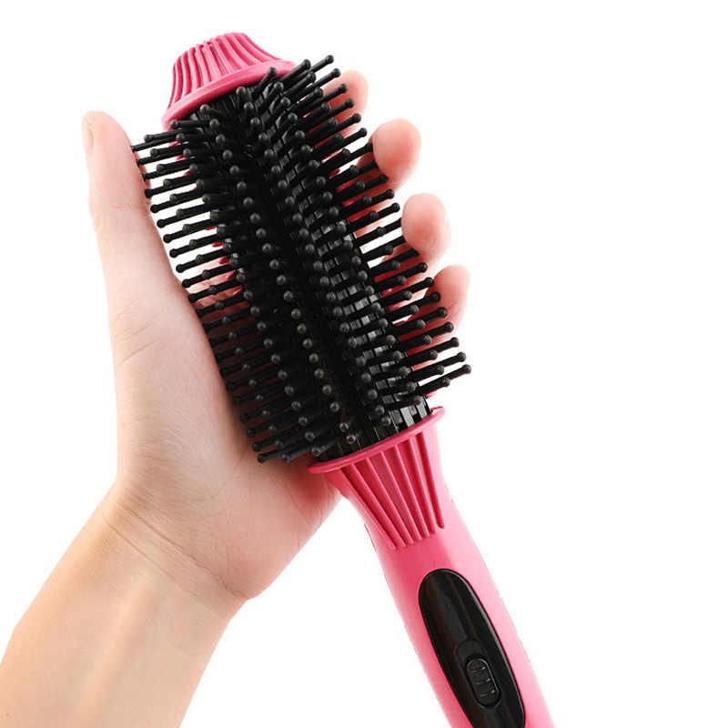 2 in 1 Mini Düz Saç Bigudi Kullanımı Kolay Saç Bigudi Doğrultma Aracı Profesyonel saç maşası Saç Şekillendirici Araçları