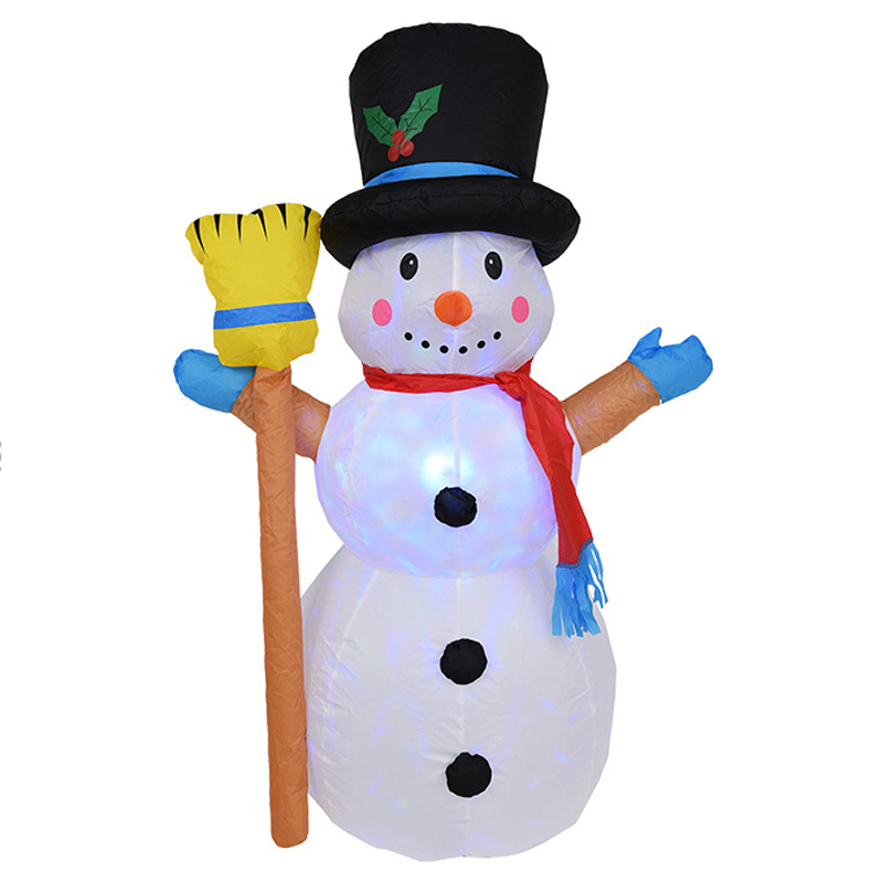 120cm Snowman Inflatable Fun Toys LED Lighted Christmas Halloween Carnival Winter Party Props Yard Outdoor Decoration Airblown120cm Snowman Inflatable Fun Toys LED Lighted Christmas Halloween Carnival Winter Party Props Yard Outdoor Decoration Airblown