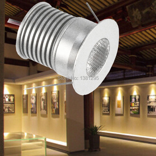 Mini LED Under Cabinet Light LED Recessed Downlight Spotlight Kit Dimmable CREE 3W Set Plug Home & Mini LED Under Cabinet Light LED Recessed Downlight Spotlight Kit ...