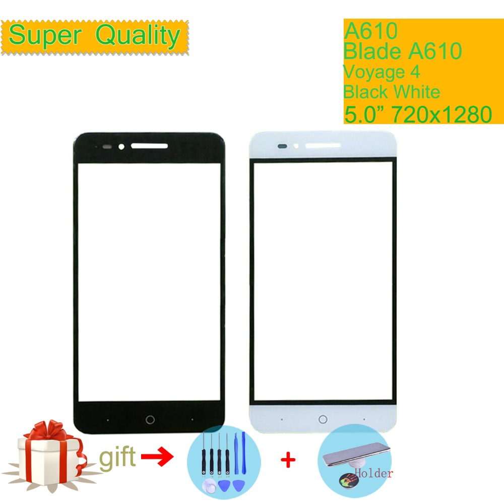 Touch Screen For ZTE Voyage 4 Blade A610 A610C BA610 TD-LTE Touch Panel Touchscreen Lens Front Outer Glass NO LCD Display