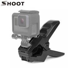 Pince de serrage pour mâchoires portables pour Gopro Hero 9 7 8 5 noir SJCAM M20 Xiaomi Yi 4K H9 pince de fixation pour caméra Go Pro 9 8 7 accessoire