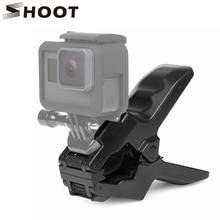 SHOOT Portable Jaws Flex Clamp For Gopro Hero 9 7 8 5 Black SJCAM M20 Xiaomi Yi 4K H9 Camera Clamp Mount Go Pro 9 8 7 Accessory