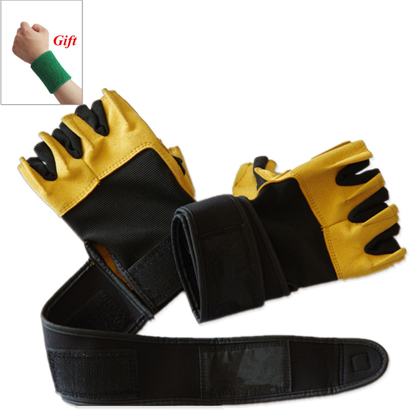 Crossfit Training Fitness Gloves Powerlifting Dumbbell Barbell Gym Gloves weightlifting Body building Weights for sports Gloves strength training