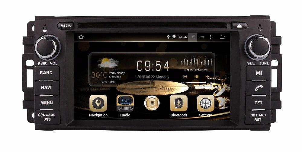 Автомобильный DVD GPS плеер Android 6.0 для Jeep Wrangler Компасы Патриот Grand Cherokee Commander DODGE Оперативная память 2 г Оперативная память + 32 г Встроенная памят...