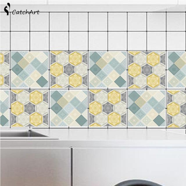 Retro autoadesivo della parete del pvc bagno impermeabile for Carta da parati impermeabile per bagno