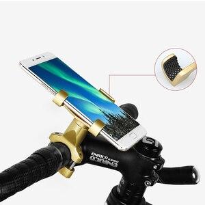 Image 5 - Universale Lega di Alluminio Del Motociclo Supporto Del Telefono Supporto Telefono Specchio Retrovisore Moto Supporto Del Telefono GPS Del Manubrio Della Bici Del Supporto