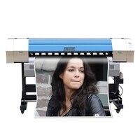 DX5 начальник эко принтер растворителя 1440 точек/дюйм высокое Скорость CMYK широкоформатной печати Machiine виниловый баннер цифровой струйный при