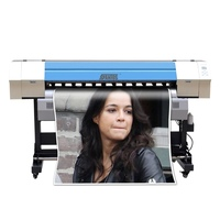 DX5 Head Eco Solvent Printer 1440dpi High Speed CMYK Large Format Printing Machiine Vinyl Banner Digital Inkjet Printer