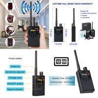 G318 1 МГц-8000 МГц радио обнаружения Анти-шпион сигнал Камера GSM аудио прибор обнаружения устройств подслушивания 4G gps линзы устройство радиосл...