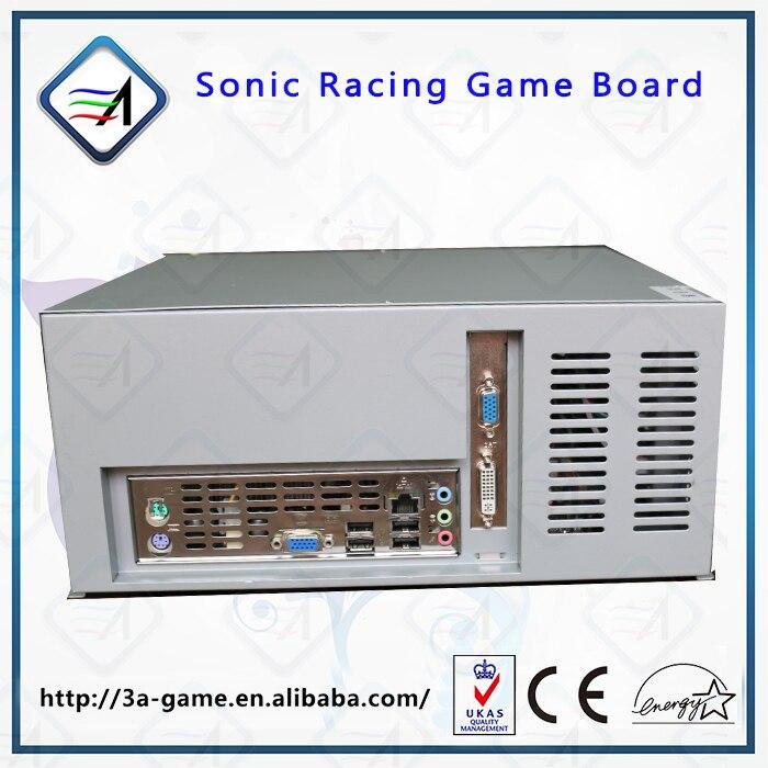 Гоночный автомобиль игровой консоли комплект Sonic симулятор гоночный автомобиль, вождение игры Mario Kart Racing игра материнская плата для аркадна