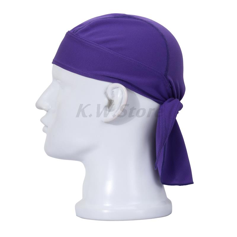 NEW Fashion Hip-Hop Pirates Cap Outdoor Sports Hiking Riding Bicycle Cycling Do-Rag Hat Balaclava Headscarf Purple E12