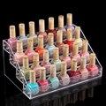 Wholesale Nail polish rack cosmetics display shelf Acrylic makeup organizer  Lipstick frame  4 layers