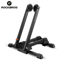 ROCKBROS Aluminum Alloy Bicycle MTB Mountain Racks Portable Maintenance Support Frame Folding Display Repair Stand Bike