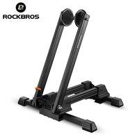 ROCKBROS Aluminum Alloy Bicycle MTB Mountain Racks Portable Maintenance Support Frame Folding Display Repair Stand Bike