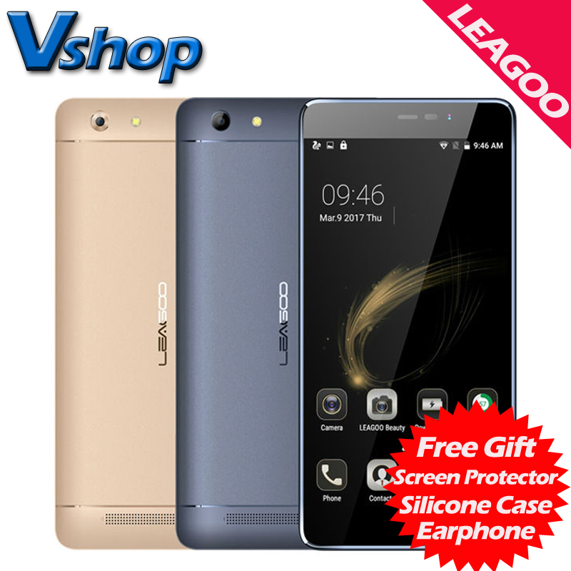 Original LEAGOO Shark 5000 3G Mobile Phone Android 6 0 1GB RAM 8GB ROM Quad Core