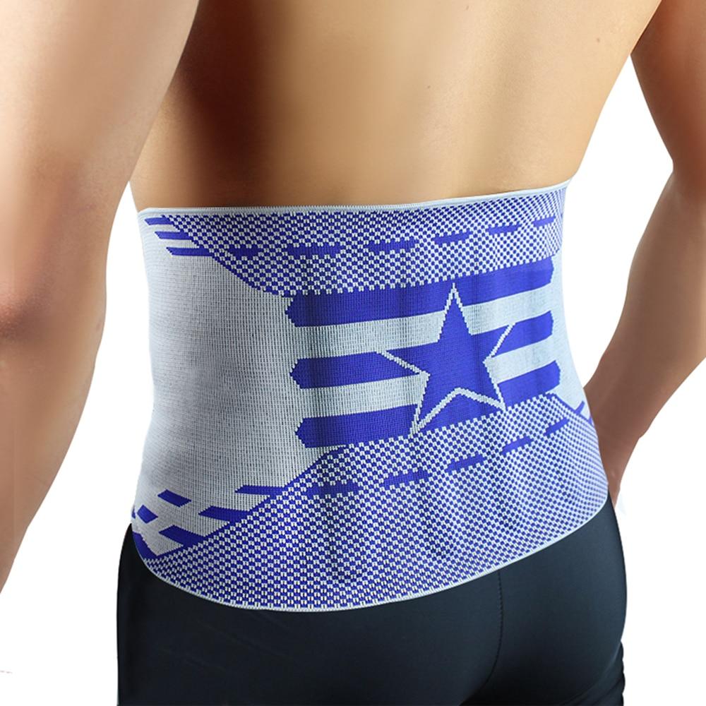 Kuangmi Four Spring Brace Slimming Belt Waist Support Stabilizing Lumbar Lower Back Brace Waist Trimmer Belt