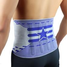 Kuangmi Four Spring Brace Slimming Belt Waist Support Stabilizing Lumbar Lower Back Trimmer Fitness Sports