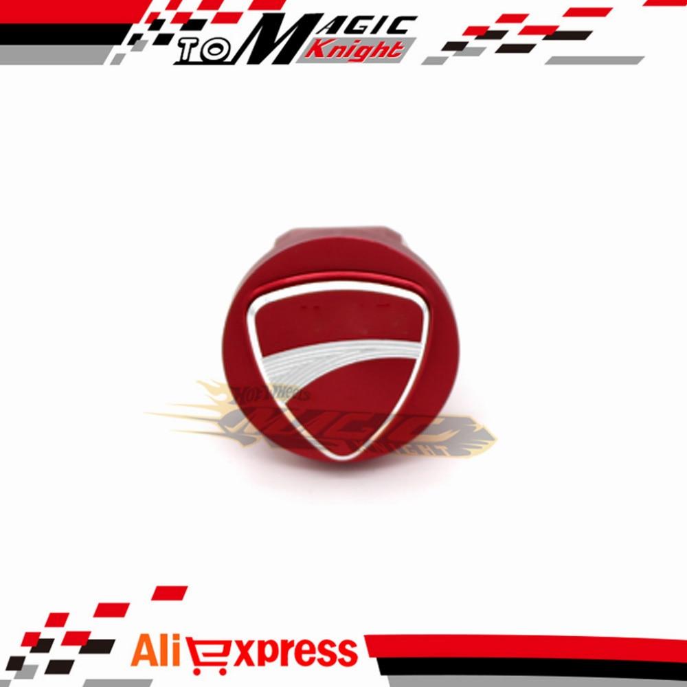 Accesorios de La Motocicleta 3D Logo especial Tornillo de La Cubierta Tapa De Ll
