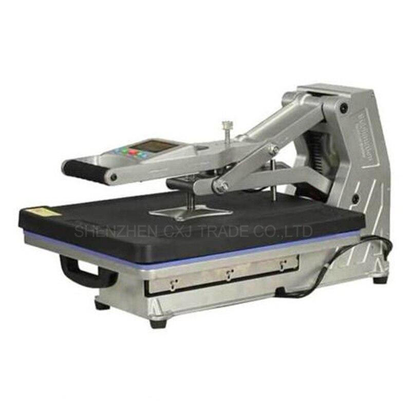 Free Ship 1pcs ST-4050 Multiple Auto Pneumatic 3D Hydraulic High Pressure Digital T-shirt Heat Press Machine 1 pcs 38 38cm small heat press machine hp230a