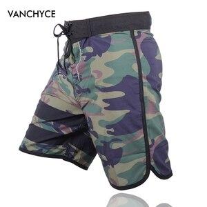 Image 2 - Vanchyce Estate Shorts Uomini Pantaloncini da Surf Costumi da Bagno di Marca Degli Uomini Della Spiaggia Shorts Uomini Bermuda Quick Dry Dargento Del Bordo Degli Uomini di Shorts