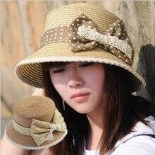 2013 women s summer sunbonnet fashion sun bucket hats beach straw braid hat sun hat