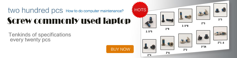 200pcs Assorted Replacement Screws for Laptop