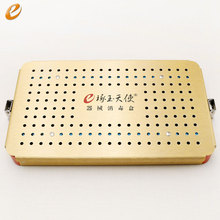 лучшая цена Medical disinfection box aluminium alloy Disinfection box for ophthalmic instruments