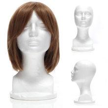 Пенопластовый манекен женская модель головы манекен парик очки шляпа Дисплей Стенд