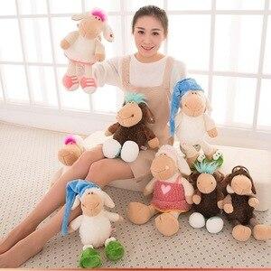 Amy Jolly овечки, конфеты, овечки, цветы, овечки, плюшевая игрушка, высокое качество, 35 см, 50 см, подарок на день рождения, детский день рождения, 1 ш...