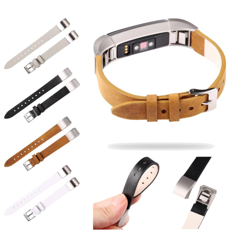 New Luxury Leather Band Bracelet Watch Band For Fitbit Alta/Fitbit Alta HR OC11 Drop shipping