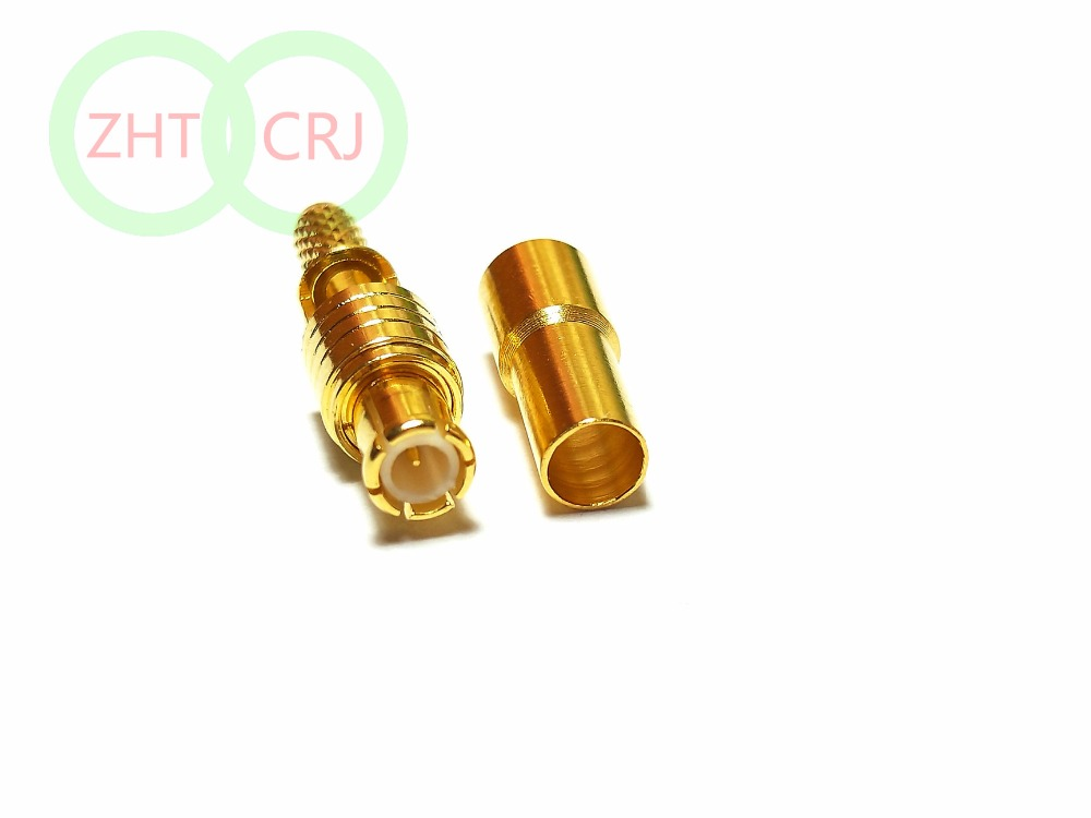 20PCS UHF Female SO239 Switch MCX Male Plug straight pigtail cable RG316 30CM