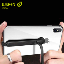 WSKEN 1m 2m 90 Degree USB Charging Cable For iPhone XS XR 8 6S 7 Plus 5 XS Max Gaming Charger Cable L Bending Mobile Phone Cable