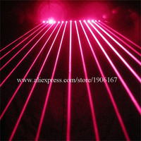 Red Laser Light Up Man Glasses With 15 Pcs Lasers Party Laserman Bar DJ Christmas Halloween