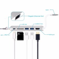 Type C HUB USB C Multiport To HDMI 4K With 2 Port USB3 0 USB C