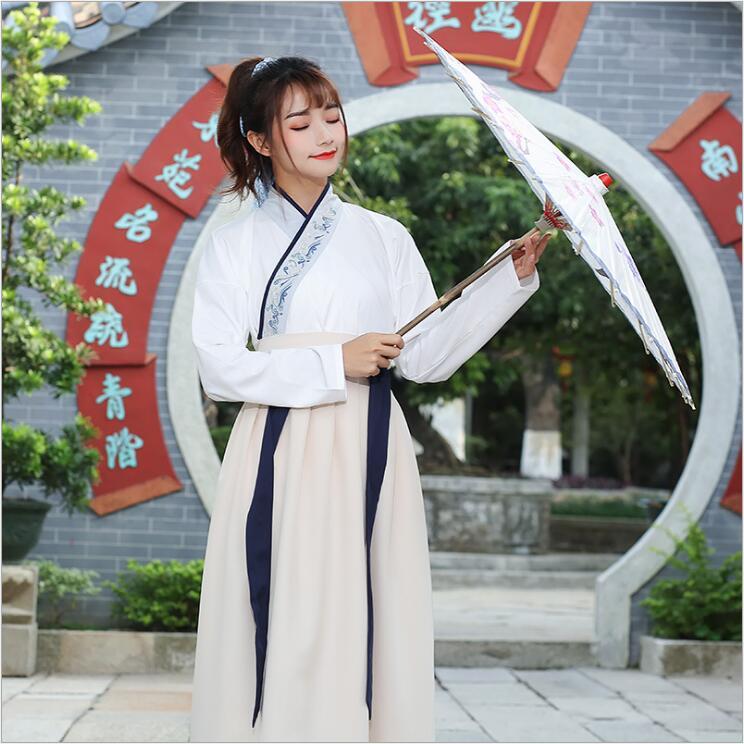 Unisexe Original Hanfu GuangDong brodé croix foulard épées homme femme style uniforme spécial costume Canton broderie - 2