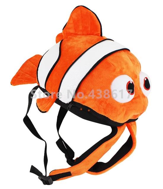 d26ab9fa914 Cartoon Finding Dory Nemo Backpack Plush Bags Kawaii Cute Fish For Baby  Boys Girls Kindergarten Preschool School Kids Bag